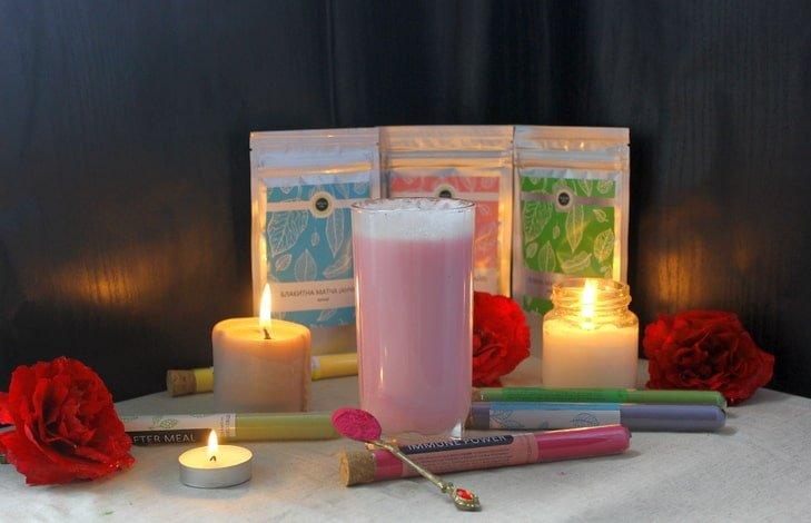 Что такое чай розовая матча?