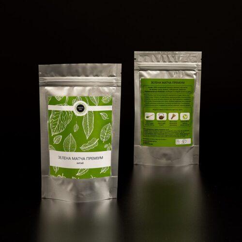 Зеленый чай матча премиум Китай