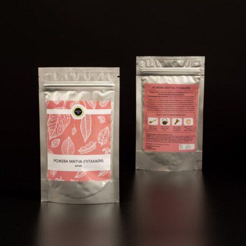 Купить розовый чай матча