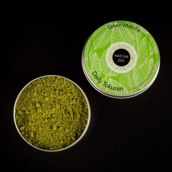 Купить зеленый matcha в баночке